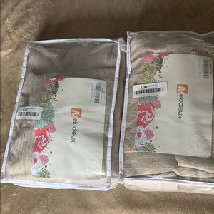 MELODIEUX Curtain Panels new lot of 2 Pk